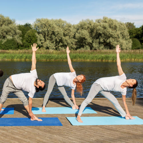 Vinyasa slow flow yoga